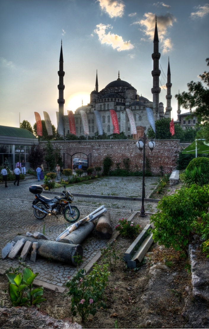 Blue Mosque Sunset (small)